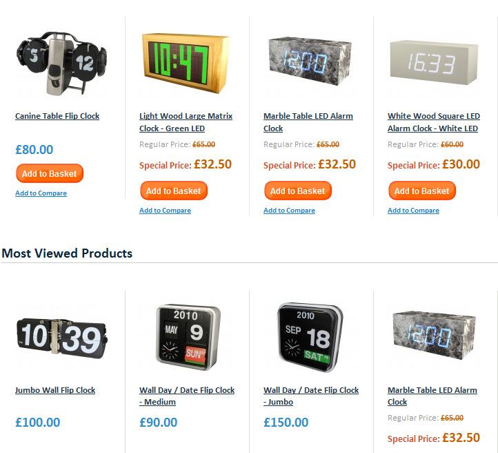Cool Clocks Product Shots